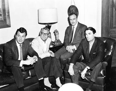 Rock Hudson, Cary Grant, Marlon Brando et Gregory Peck, 1963 #histoire #cinema pic.twitter.com/lGJsIj6mnY