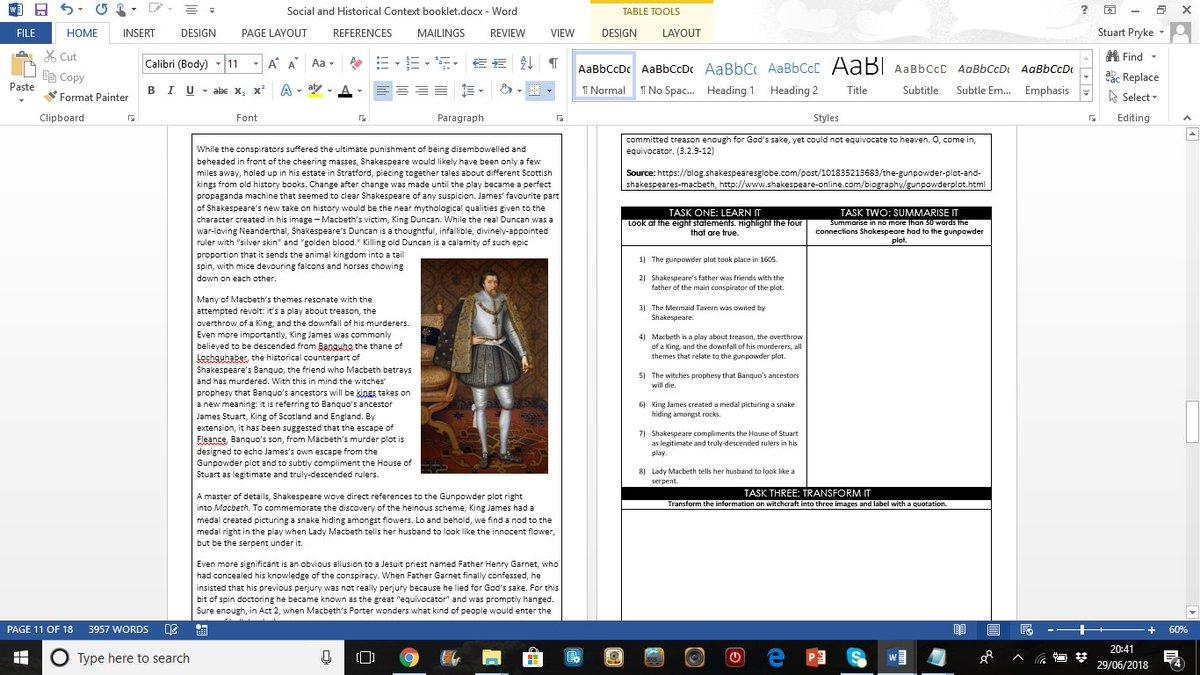 social historical context of macbeth