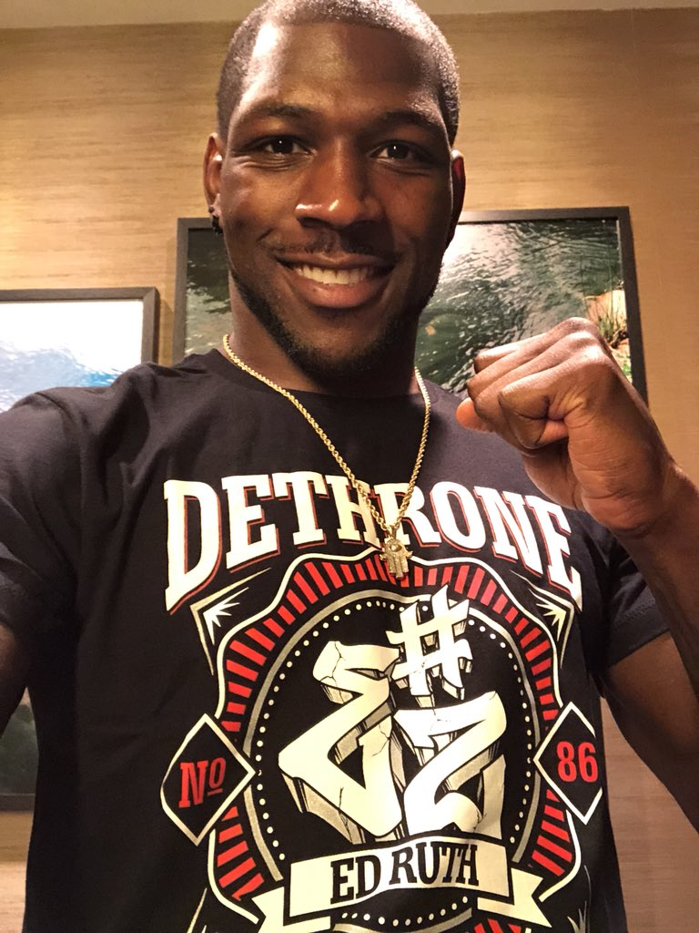 Thanks @dethrone for the EZ way fight shirts, couldn't be more excited my fight tn!! #EZway