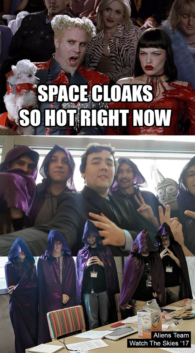 Space Cloaks So Hot Right Now