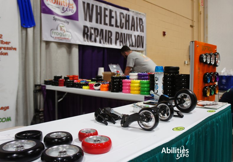 Stop By The #Wheelchair Repair Pavilion For A Free Tune Up.  Pic.twitter.com/Z19ORXsCaX