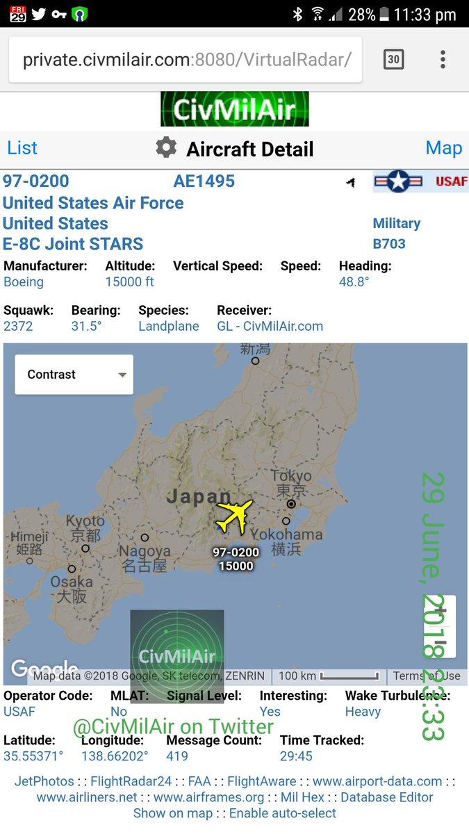 Us Air Force Bases In Japan Map.Civmilair On Twitter Inbound Yokota Air Base Japan Us