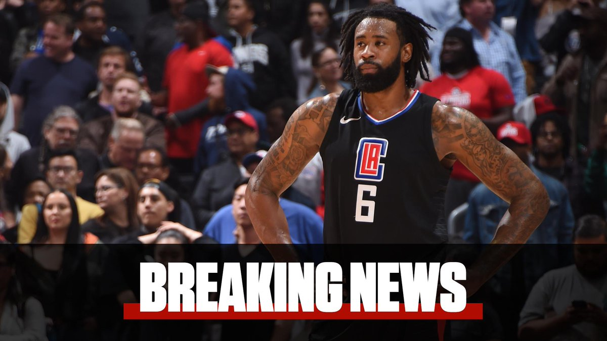 Breaking  Clippers center DeAndre Jordan will opt-out of his deal and  become an 0a98f2680