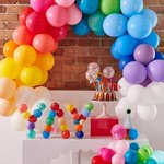 """27 Likes, 1 Comments - Moppit and more (@moppitandmore) on Instagram: """"YAY! It's humpday, middle of the week calls for party balloons and colour ? @poppiesforgrace…"""" This fantastic party idea was featured today on https://t.co/2n0L40LUCS! #partyideas #party #birthdayparty #hol…"""
