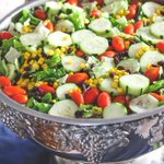 """39 Likes, 4 Comments - HenrisExquisiteCatering (@henriscatering) on Instagram: """"Our tossed green salad with corn and black beans is especially delicious with our home-made…"""" This fantastic party idea was featured today on https://t.co/2n0L40LUCS! #partyideas #party #birthdaypa…"""