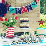 """116 Likes, 11 Comments - Misha Perritt (@alovelydesign) on Instagram: """"Fourth of July is right around the corner! Start planning now! I have some fabulous ideas and…"""" This fantastic party idea was featured today on https://t.co/2n0L40LUCS! #partyideas #party #birthdayparty #ho…"""