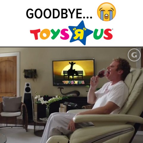The last Toys R Us stores officially closed 😢 #ToysRUsKid