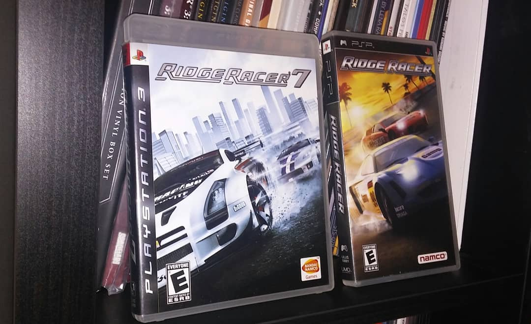 ridge racer psp ost
