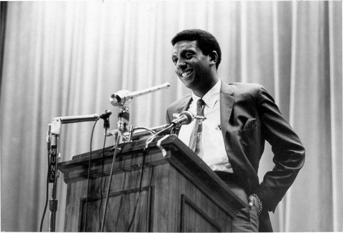 The secret of life is to have no fear; it\s the only way to function. -Stokely Carmichael   Happy Birthday.