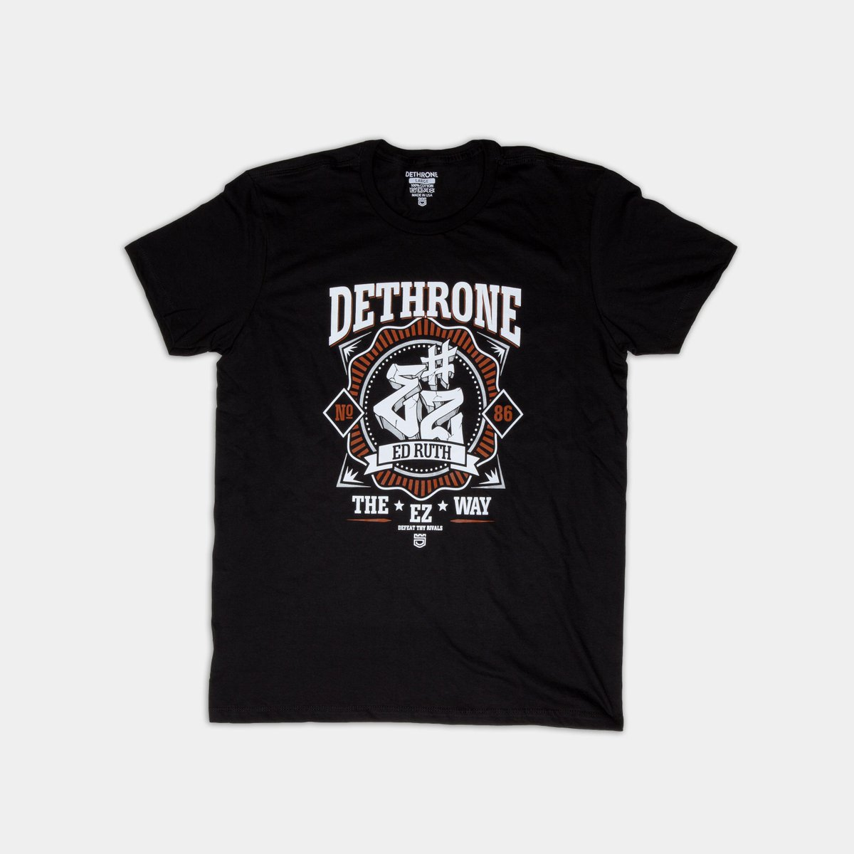 Stoked for @edruth67 fighting on @BellatorMMA tonight! Get Ed's signature shirt here: dethrone.com/products/ez.