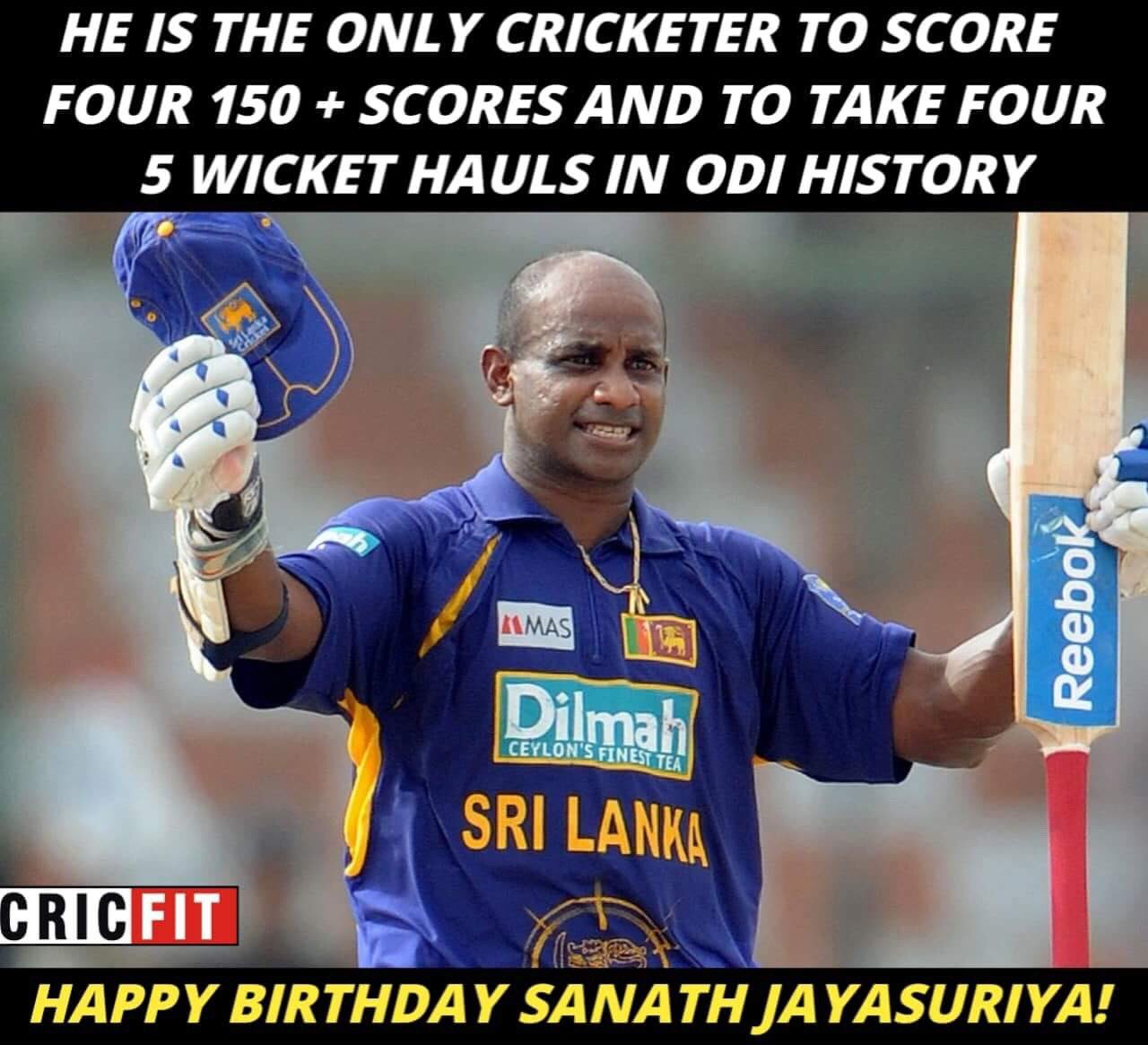 Happy Birthday Sanath Jayasuriya!