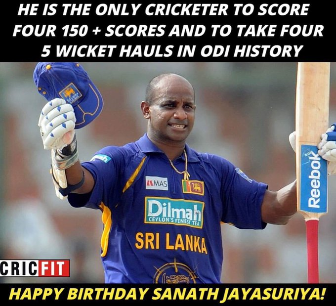 Happy Birthday Sanath Jayasuriya!