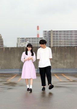 個人PV「SUTERU」のロケ地で監督山岸聖太さんと撮影2