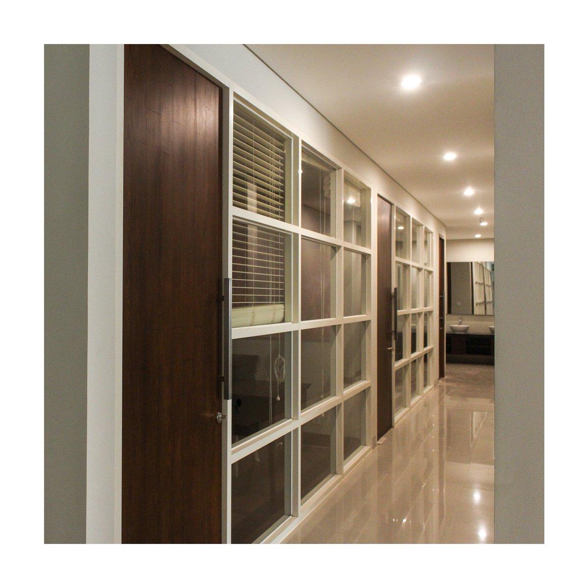 Home Interior Architecture Design Building Interiordesign Interiorbali Architectureproduction Homeimprovement Tropical Office Door Window
