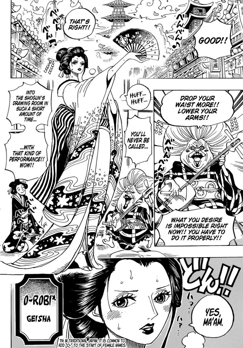 """GT  ShinATproof(・ωメ) on Twitter: """"Nico Robin Dressed as a Geisha. That is  all.… """""""