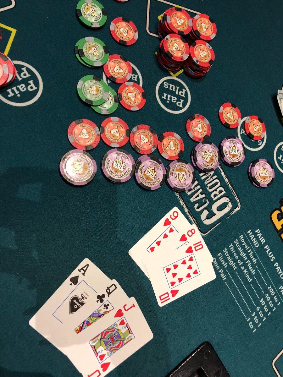 Turlock Poker Room On Twitter Double Bonus Straight Flush And 5