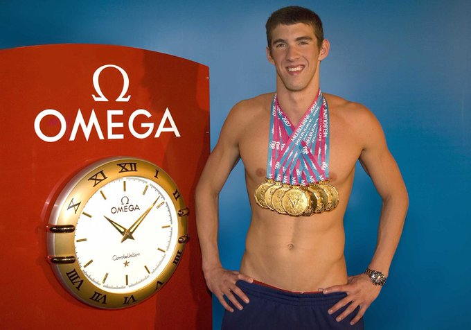 Happy Birthday ! Today Michael Phelps meets 33 years