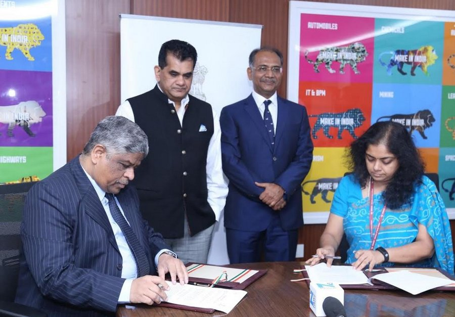 GNFC  adopts  Blockchain Technology, inks pact with Niti Aayog  on fertiliser subsidy disbursement