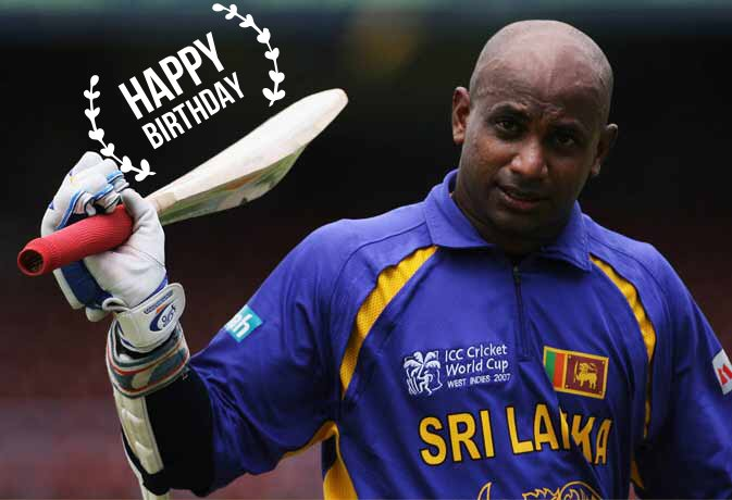 Happy Birthday Sanath Jayasuriya.  ICC