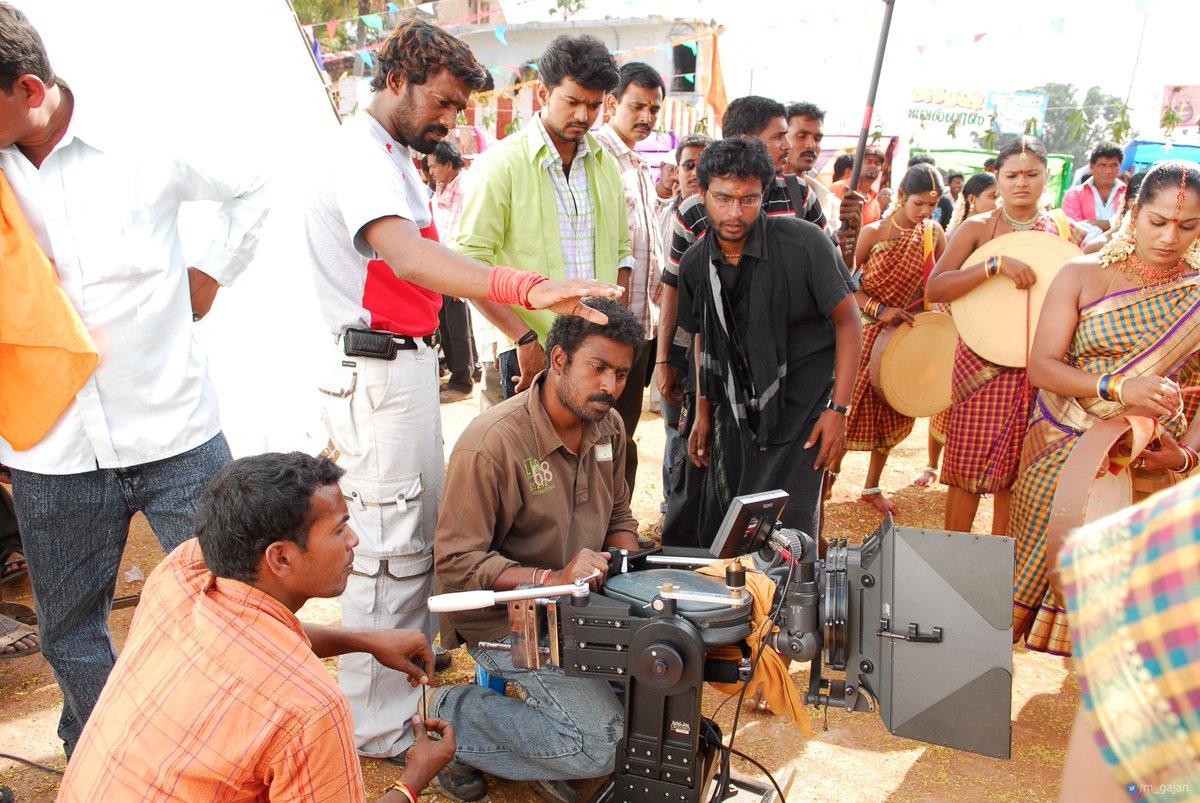 "Gajan on Twitter: ""#Thalapathy #Vijay #Pokkiri shooting spot UHD ..."