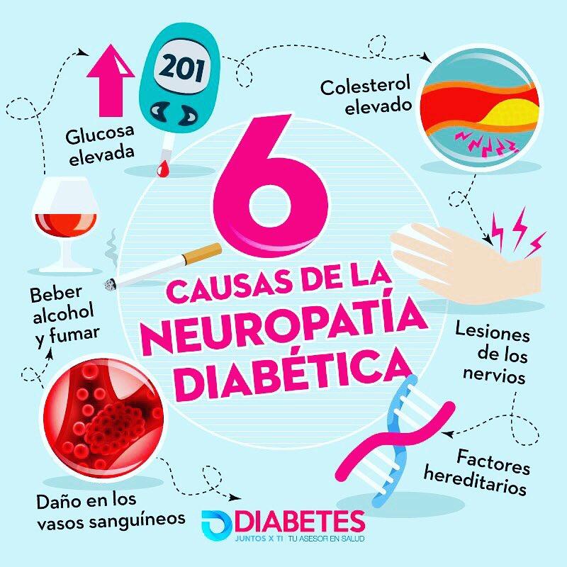 diabetes mellitus daño nervioso