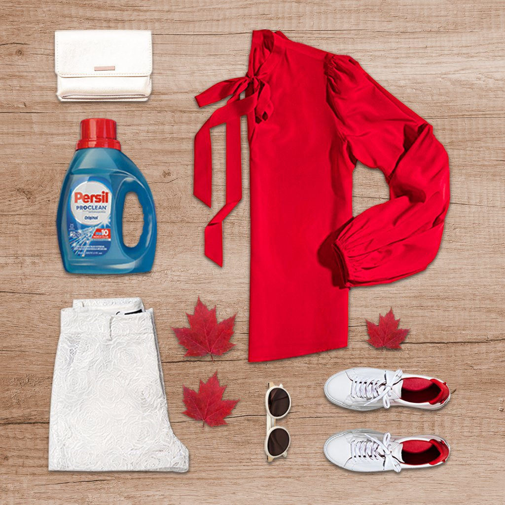 Your perfect Canada Day outfit:  ✔️cute ✔️comfortable ✨cleaned by Persil® ProClean® laundry detergent✨ https://t.co/IFq3sPIpqt