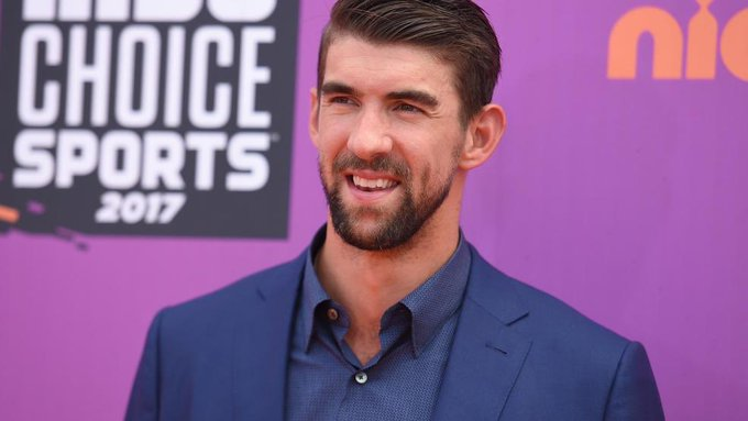 Two famous Michaels with birthdays today.  Happy Birthday wishes to Michael Phelps (33) & Mike Tyson (52).