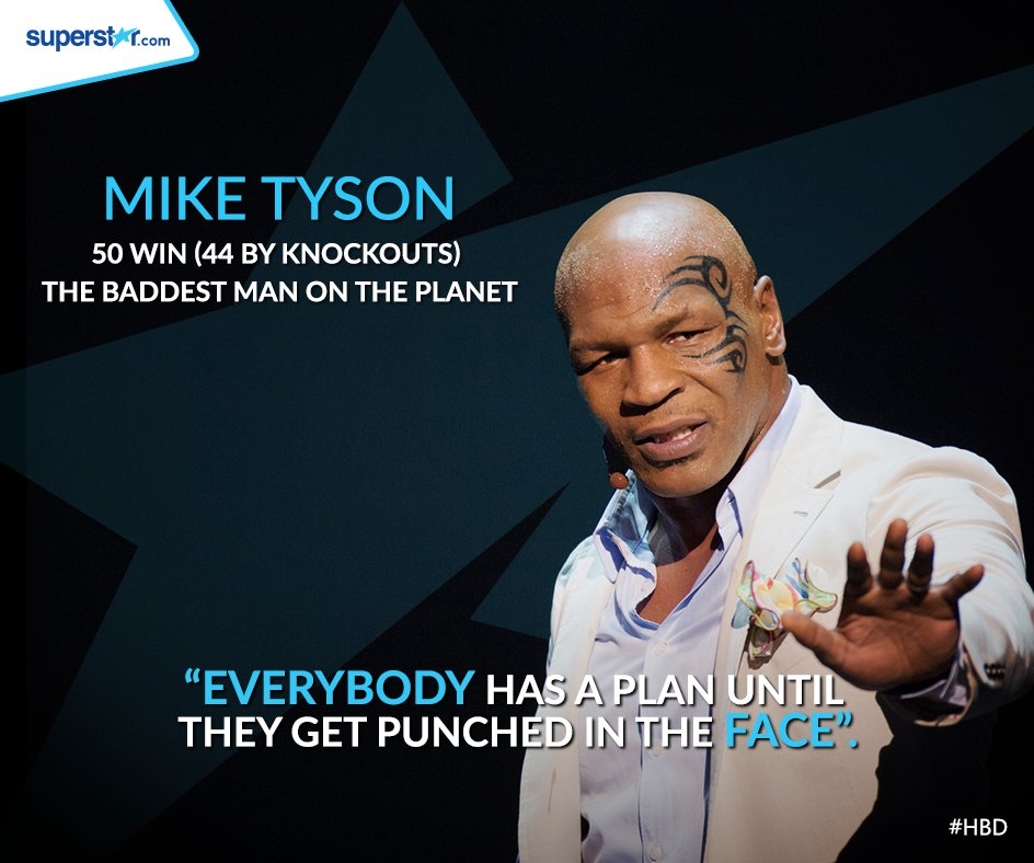 Happy birthday Mike Tyson