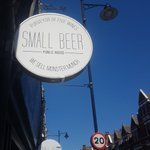 Image for the Tweet beginning: At @smallbeerN8 we offer great