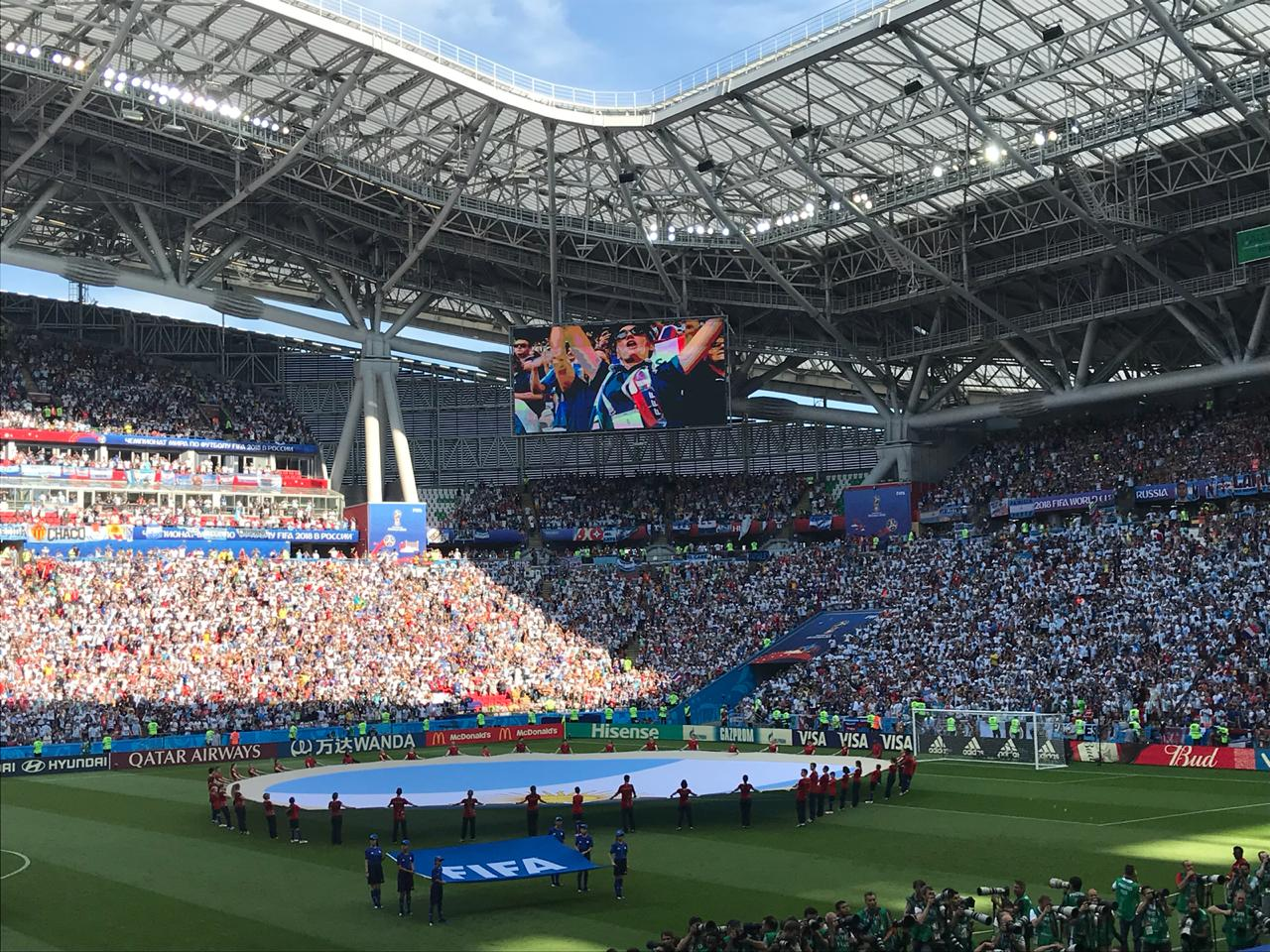 Francia gana 4-1 a Argentina