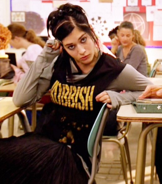 Happy birthday to Janis (played by Lizzy Caplan) from mean girls and no one else