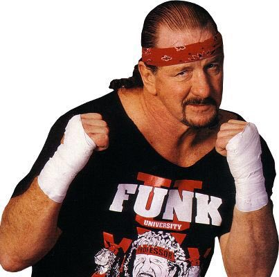 Happy Birthday to Terry Funk! We are a little past Middle Aged & Crazy .