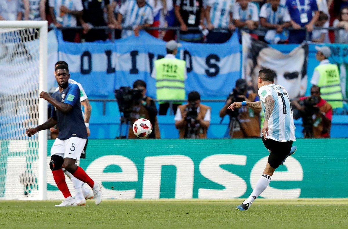 "Milenio en Twitter: ""#Rusia2018 Francia vs Argentina Ángel Di ..."