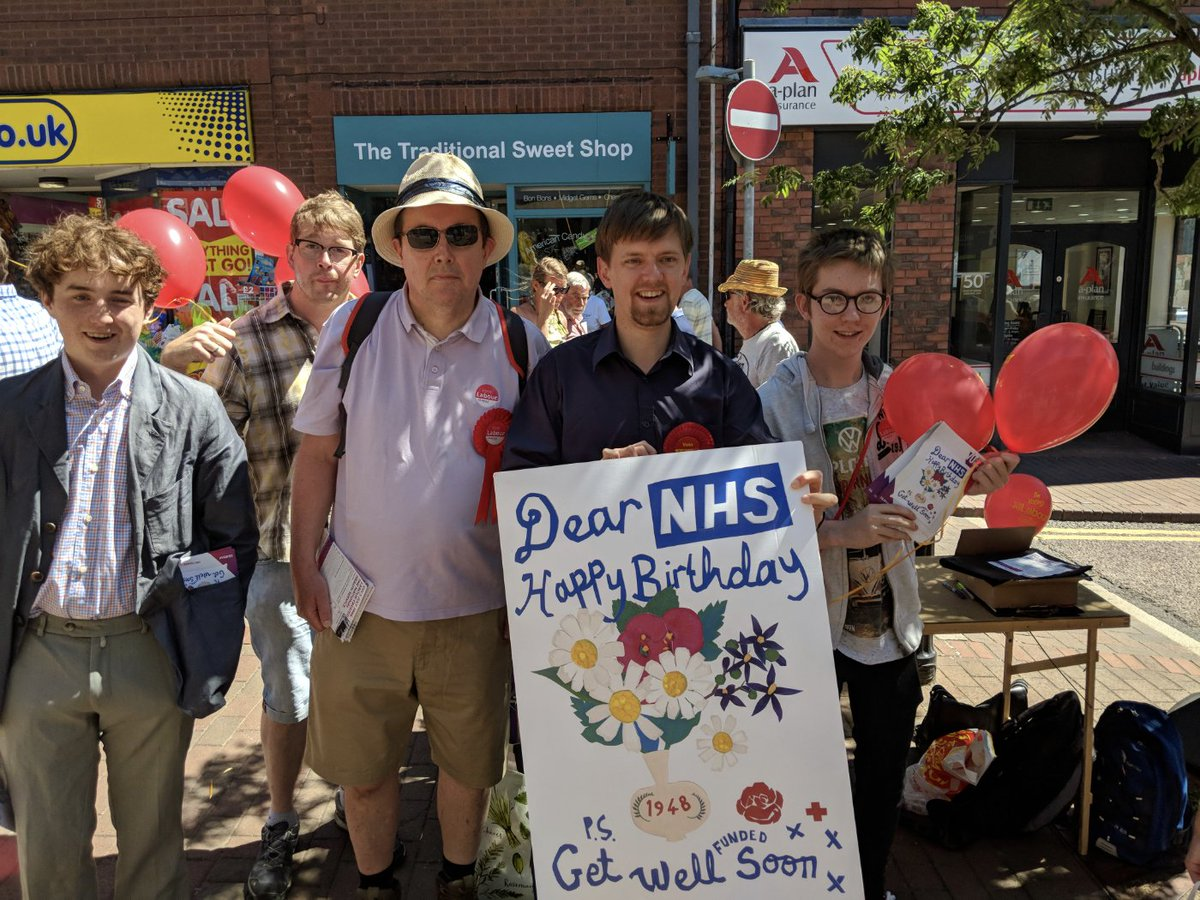 Neil Puttick On Twitter Weve Been Getting Everyone To Sign Our Birthday Card For The NHS Its 70th Labours Greatest Achievement Britain