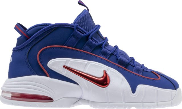outlet store d746e 04e01 Air Max Penny 1 Lil Penny Mens Lifestyle Shoe (Deep Royal Blue Gym Red