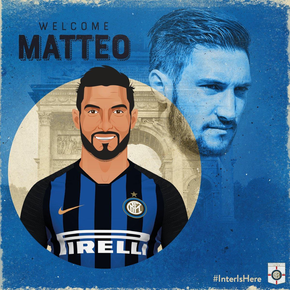 UFFICIALE! 🙌✍🏼 @MPolitano16 ⚫️🔵 👉 bit.ly/2lJJc1F #WelcomeMatteo #InterIsHere