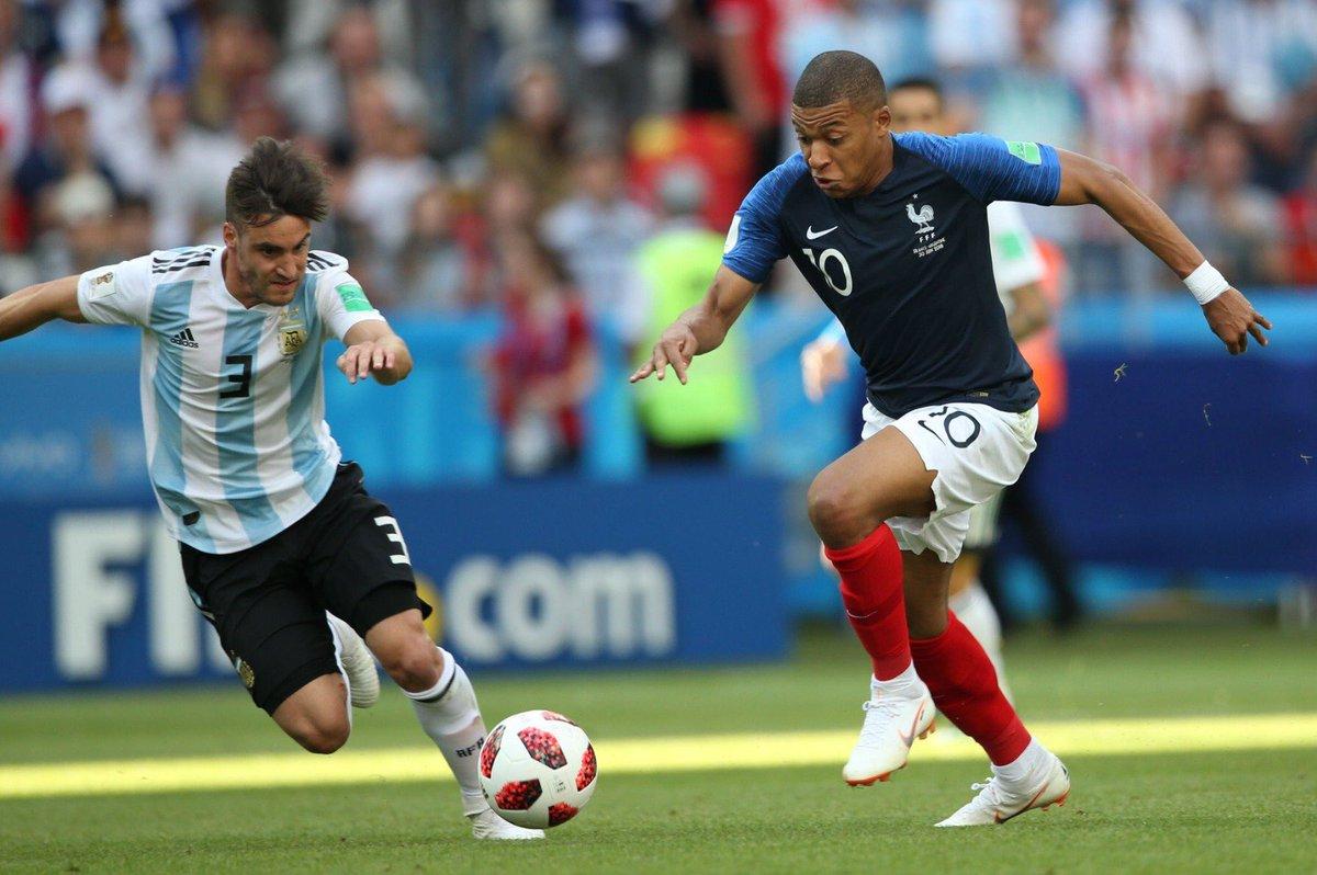 Resumen: Goles de Argentina vs Francia