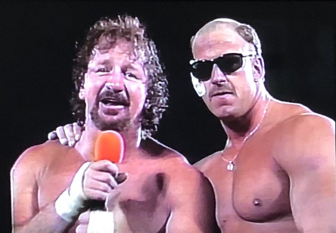 Happy F N Birthday Terry Funk one of the main reasons we wanted to review ECW from the start