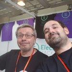 Image for the Tweet beginning: Avec @marcolanie chez @Electrolab_Fr pour