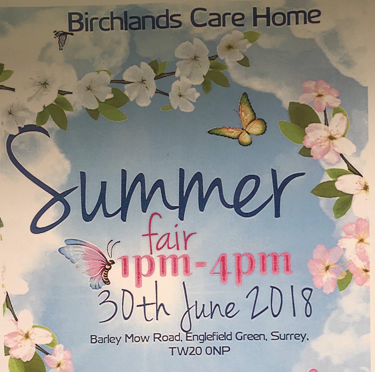 Birchlands Twitter post