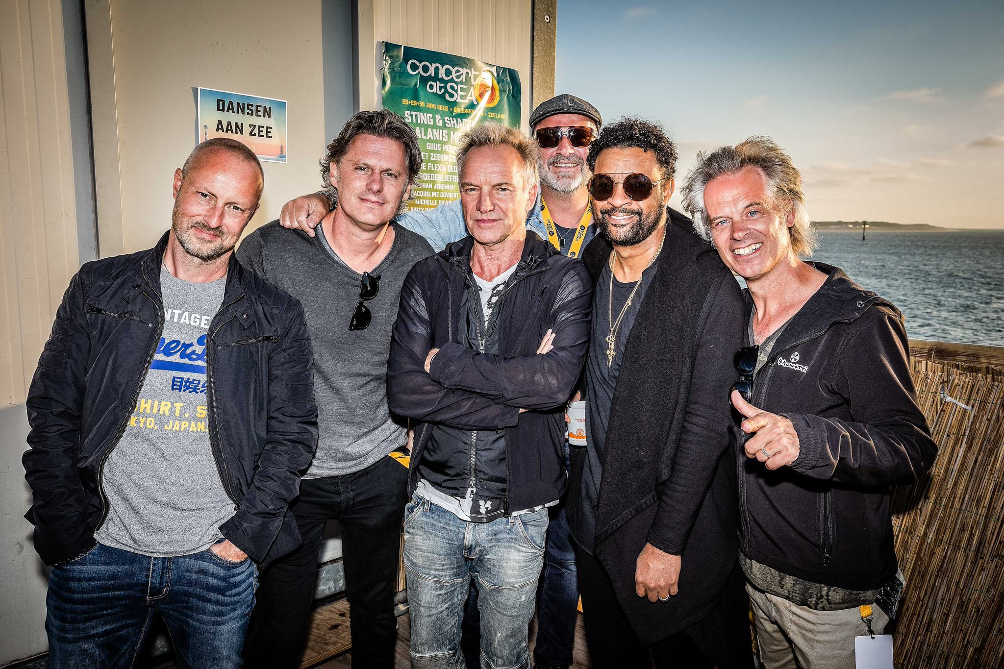 Oh, just hanging out with @blof in Zeeland #ConcertAtSea @DiRealShaggy #Netherlands. https://t.co/IH9KcVkXCg