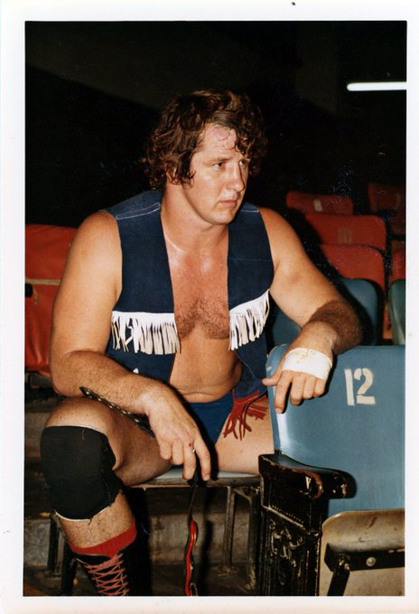 Happy Birthday to Terry Funk. Photo from 1973 in Los Angeles.