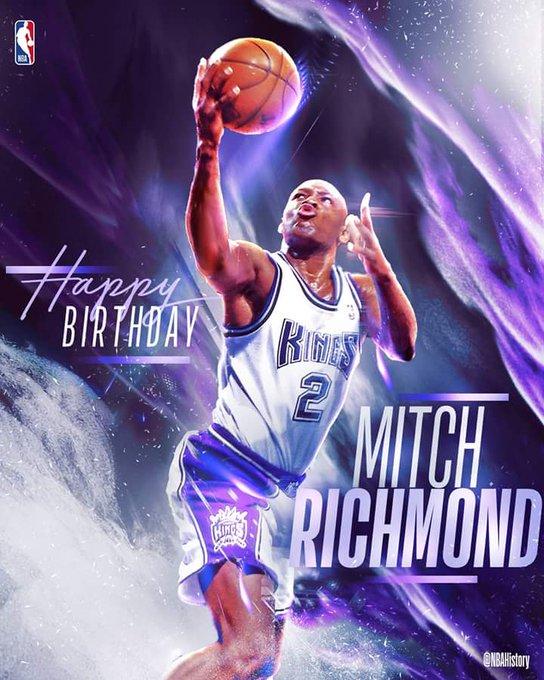 Happy Birthday to Hall of Famer, Mitch Richmond!