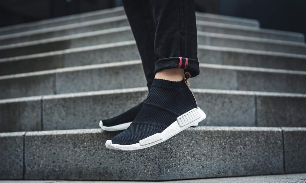LIVE adidas NMD CS1 Lux 'Core Black