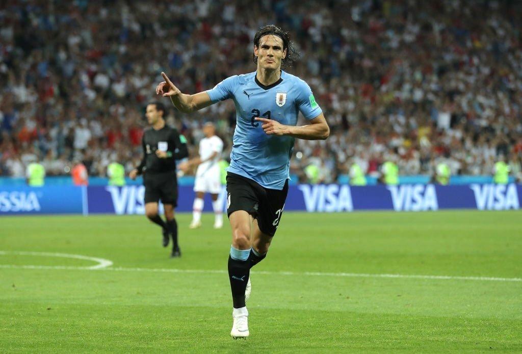 الأوروغواي تتأهل لربع نهائي المونديال بثنائية في مرمى البرتغال