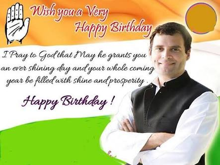 Happy birthday to you Mr.Rahul Gandhi ji