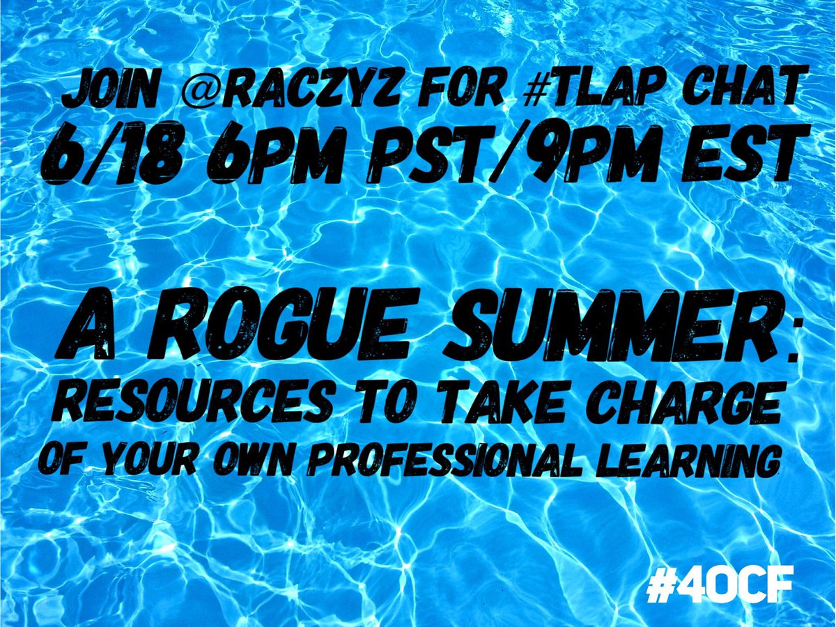 Join #LearnLAP happening NOW!!! Then hop over to #TLAP at 8CST with @RACzyz of the #4OCF!!