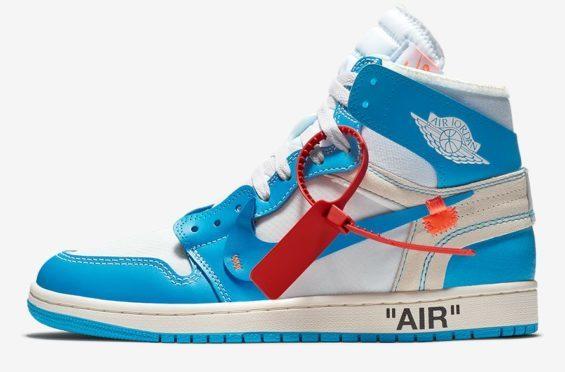 OFF-WHITE x Air Jordan 1 Powder Blue (UNC) - https://t.co/9z3HZirCdg https://t.co/nR311evLMZ