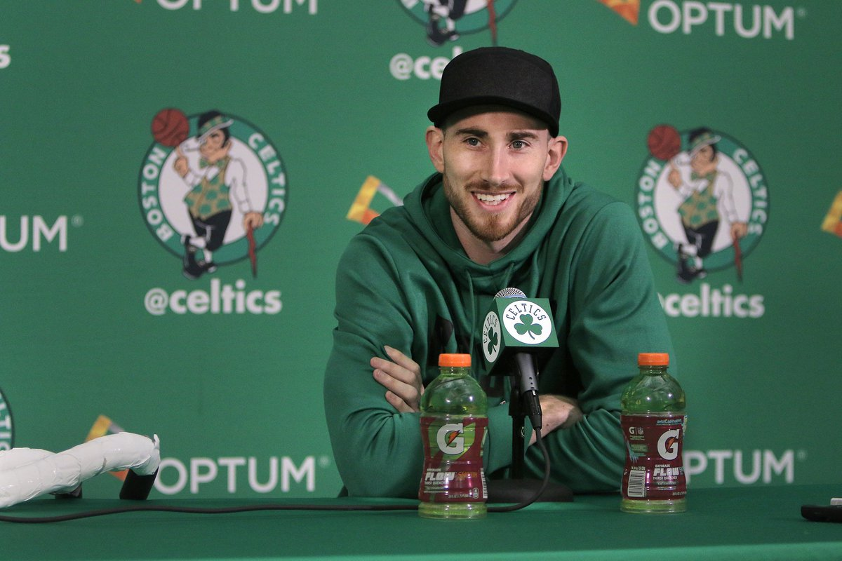 Gordon Hayward on track to be 'fully cleared' in August from leg injury https://t.co/N0ImD6KlVx