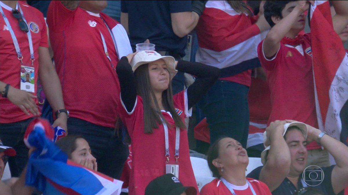 Costa Rica, próxima adversária do Brasil, também não teve boa estreia. Técnico do time tem sido alvo de muitas críticas: https://t.co/VvxsTp2Ry8 #JNNaCopa